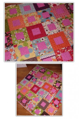 quit, patchwork, momo, moda, freebird, fabric, plaid, blanket
