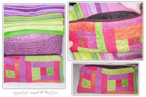 trousse, lin, linen, pencil case, fabric, tissu, dye, dyed, teint, teinture